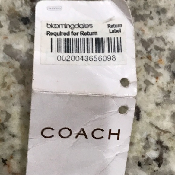 Coach Other - Coach leather soft slip Hobo - tan